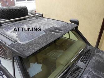 Спойлер козырек лобового стекла Jeep Cherokee XJ