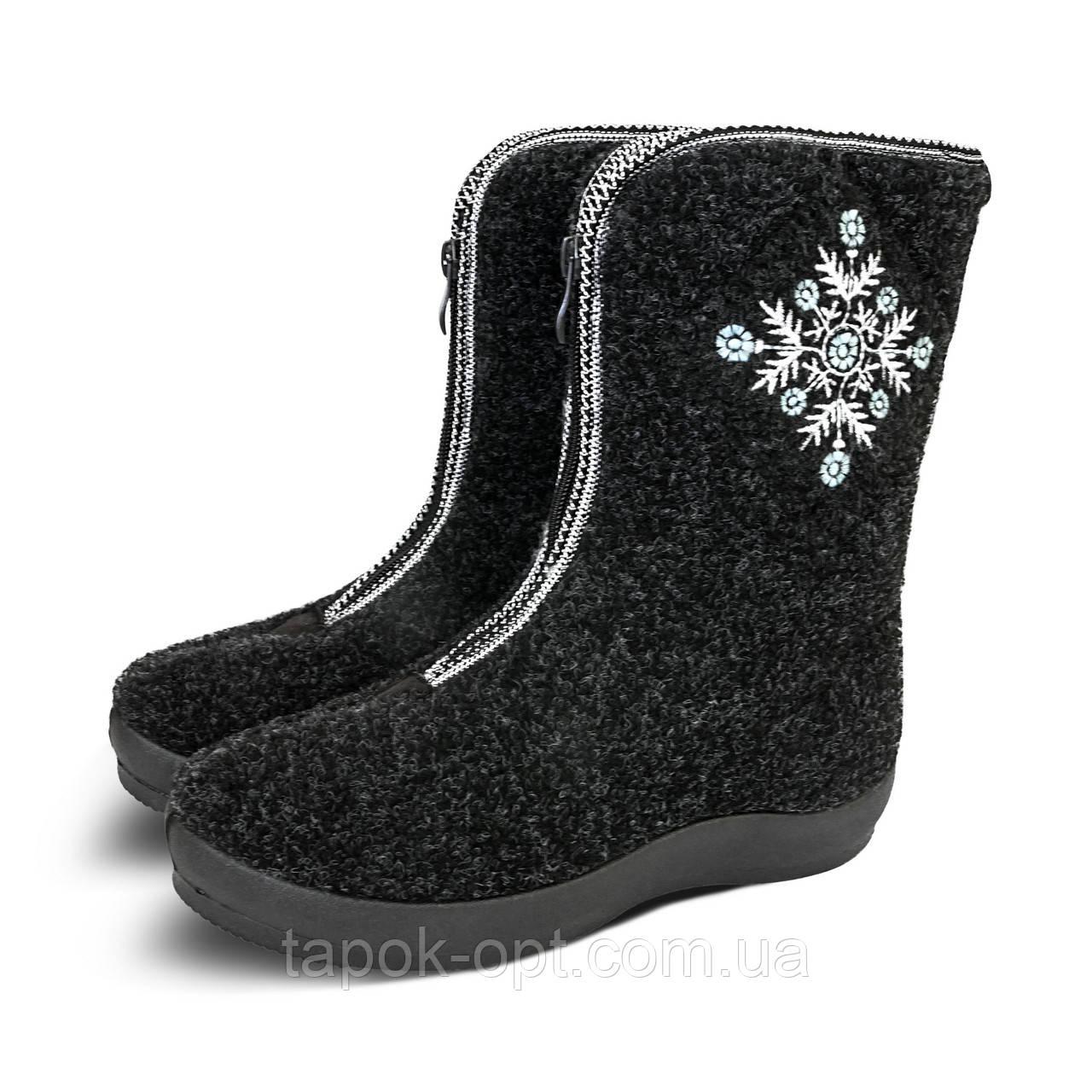 2baff5d5c Бурки женские высокие с молнией, оптом - Оптовый интернет-магазин  качественной и недорогой обуви