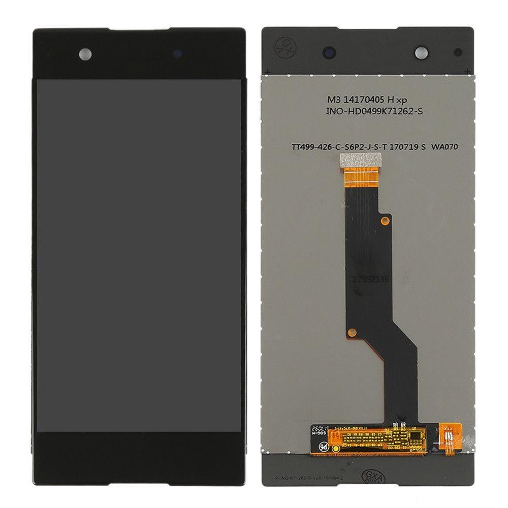 Дисплей (экран) для Sony G3125 Xperia XA1 Dual з сенсором (тачскріном) черный Оригинал