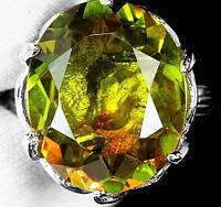 """Крупный перстень с султанитом   """"Маринка"""", размер 15,5 от студии LadyStyle.Biz"""