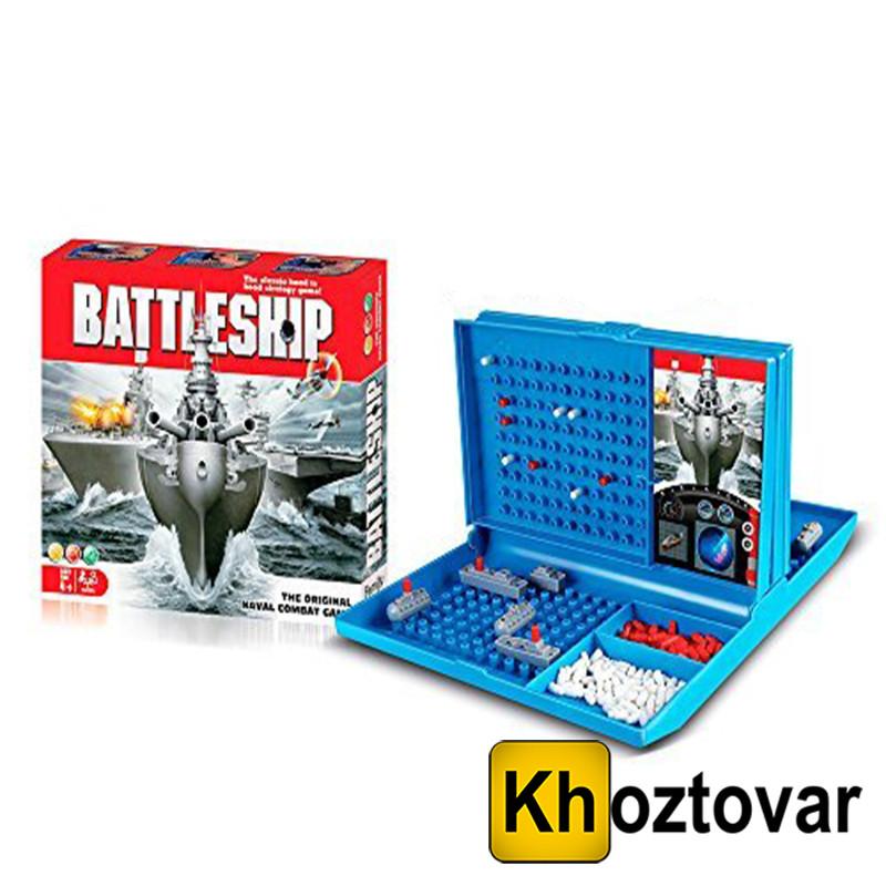 """Настольная игра """"Морской бой"""" Battleship 007-44"""
