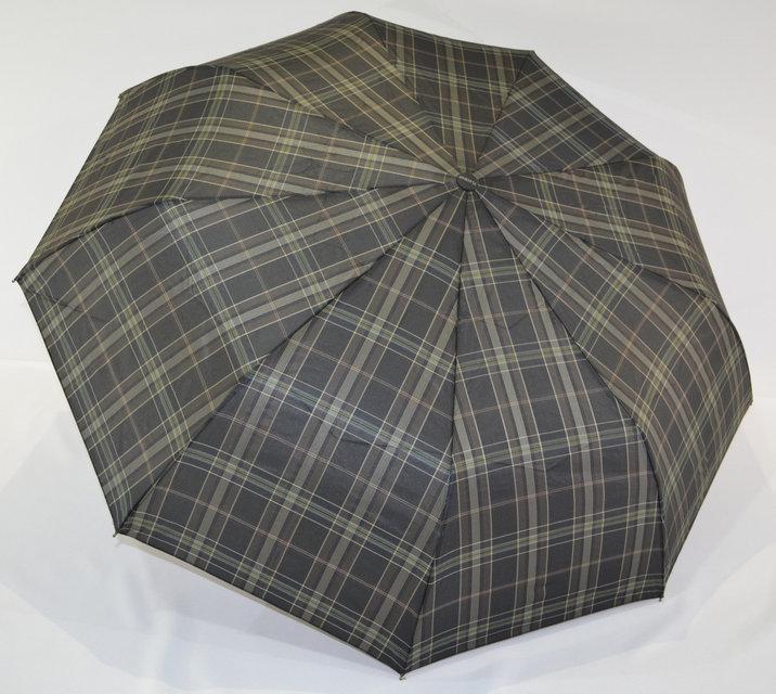 """Качественный, надежный мужской зонт полуавтомат """"Burberry"""" от фирмы """"Flagman""""."""
