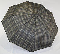 """Качественный, надежный мужской зонт полуавтомат """"Burberry"""" от фирмы """"Flagman""""., фото 1"""