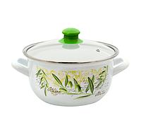 Savasan Кастрюля для индукционной плиты 1,5л -16 см Олива
