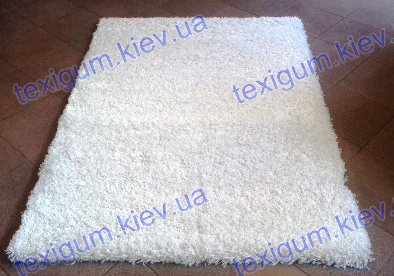 Высоковорсные ковры Шагги Люкс, Бельгия, цвет молочный