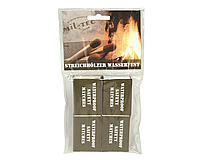 Спички влагозащищённые всепогодные 4 коробки MilTec 15234000