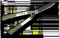 Ножницы для живой изгороди волнистые Standart Teflon