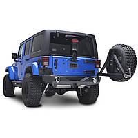 Задний бампер силовой тюнинг Jeep Wrangler JK