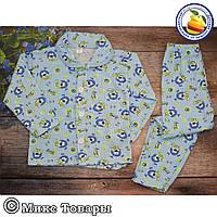 Детские пижамы ткань Байка Размеры: 4-5-6 лет (5721-4)