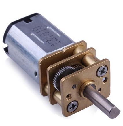 Микро электродвигатель с редуктором  3-12V