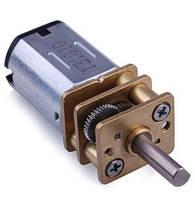 Микро электродвигатель с редуктором  3-12V, фото 1