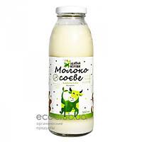 Молоко соевое без сахара Зелена корова 300мл