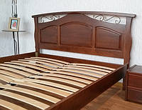 ЛИДЕРЫ ПРОДАЖ!!! Деревянные кровати с кованными элементами.