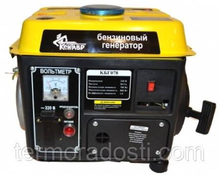 Бензиновый генератор Кентавр КБГ078а
