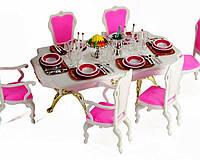 """Мебель """"Gloria"""" 48 дет., для столовой, стол, стулья,…в кор. 29*17*6см ()"""