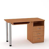 Стол письменный СКМ-9 ольха Компанит (120х60х74 см), фото 1