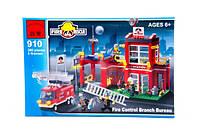 """BRICK """"Пожарная тревога"""", 380 дет, в коробке (BRICK 910 (24))"""