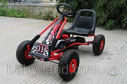 Карт педальный железный детский педальная машинка  PROFI M 0645-3