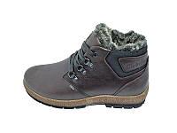 Мужские зимние ботинки с нат. кожи Club Shoes Techlite Stael R1 Brown размеры: 40 41 42 43 44 45
