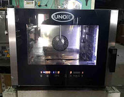 Пароконвекицонная печь Unox XVC 305 б/у