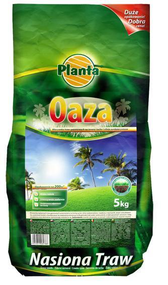 Газонная трава засухоустойчивая Oaza Planta 5кг