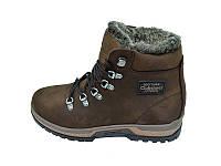 Мужские зимние ботинки с нат. кожи Club Shoes 20 Company Brown размеры: 40 41 42 43 44 45