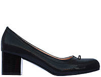 Женские туфли из натуральной кожи на каблуке МАРИНИ
