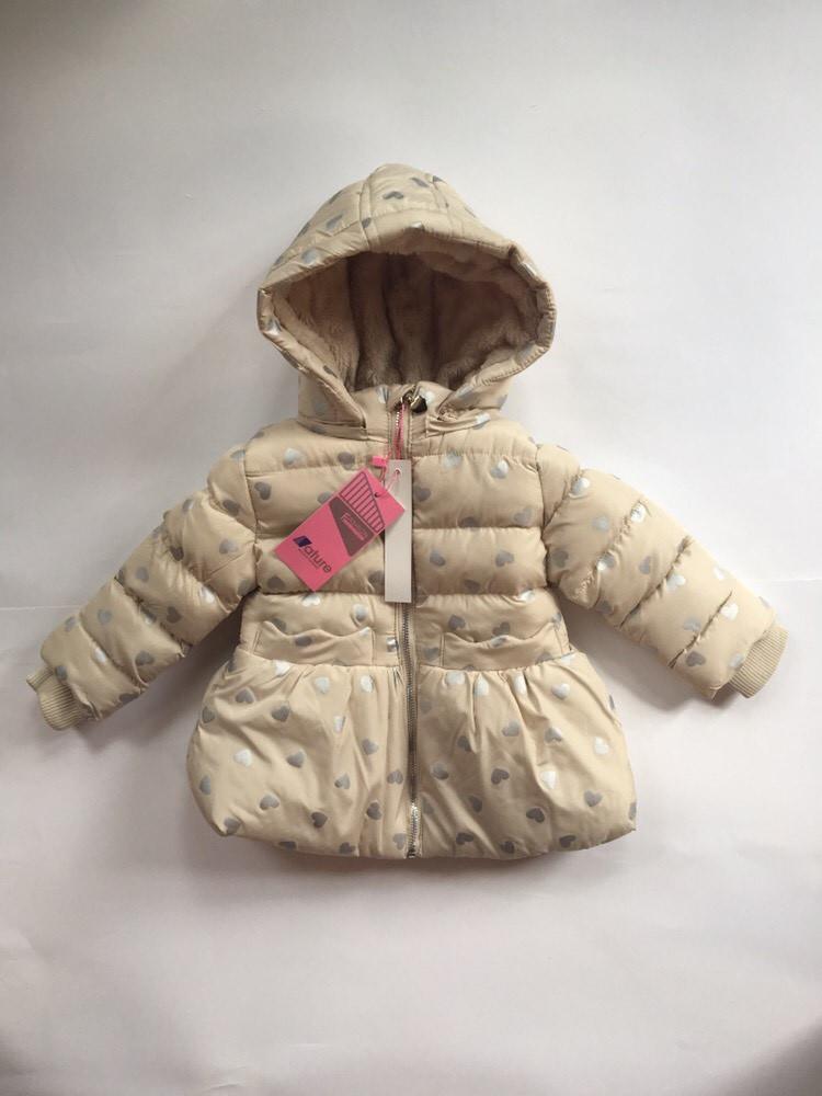 Зимняя куртка для девочки Nature Венгрия размер 12/18-30/36