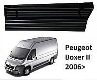 Накладки на пороги Peugeot Boxer II 2006>