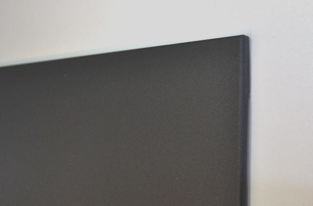 Черные безрамные магнитно - меловые доски
