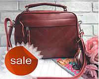 Сумка натуральная кожа ss258473  Кожаные женские сумки, сумочки кожа., фото 1