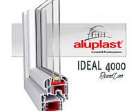 Окно глухое 700х1400 профиль Aluplast 5-кам.