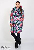 Зимнее двухстороннее пальто 2 в 1 Kristin  р. 44-50 (для беременных, обычное пальто) ТМ Юла Мама OW-47.031