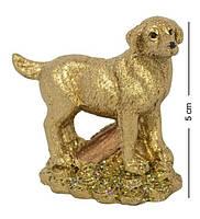 Фигурка Собачка на монетах с сундуком 2356. Символ 2018