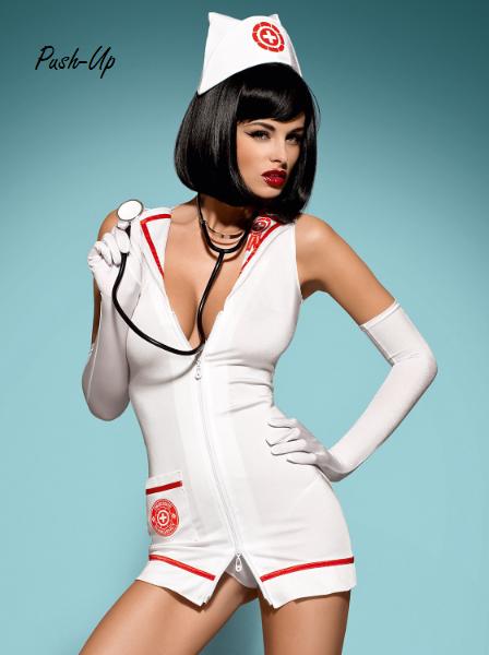 Сексуальный костюм Obsessive EMERGENCY DRESS