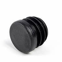 Заглушка круглая внутренняя диаметр 32 мм ЧЕРНЫЙ