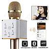 Караоке-микрофон Bluetooth Q7 GOLD