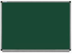 Зеленые магнитно - меловые доски в алюминиевой раме