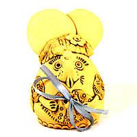Копилка керамическая ручной работы Мышка 9455