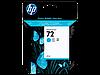 Картридж HP DJ No. 72DesignjT1120/1300 Cyan (C9398A)