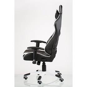 Кресло Special4You ExtremeRace black/white (E4770)