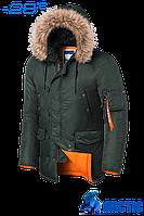 Парка мужская зимняя Braggart Arctic - 4576E хаки