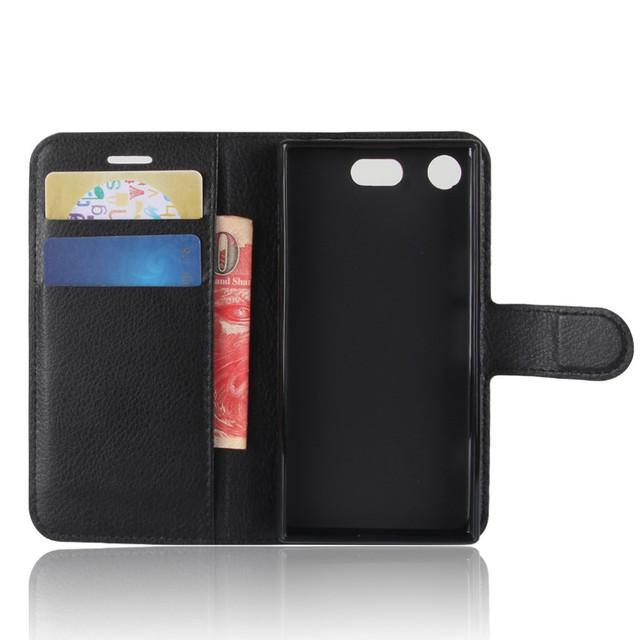 чехол книжка Sony Xperia XZ1 Compact черный