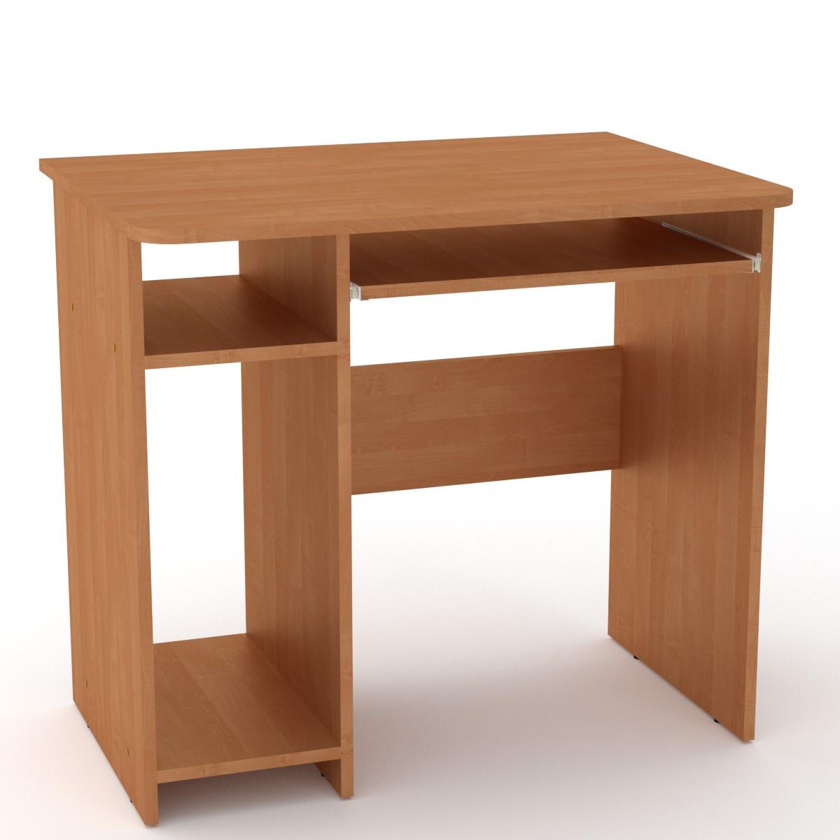 Стол компьютерный СКМ-12 ольха Компанит (82х60х74 см)
