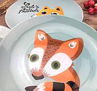 Детская тарелка 20 см Fox top-0081