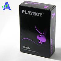 Презервативы ребристые классической формы Playboy Ribbed 6 шт в упаковке