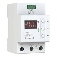 Терморегулятор цифровой для теплого пола terneo b