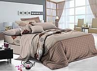 Семейный комплект постельного белья сатин (8249) TM KRISPOL Украина