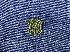 Нашивка New York s колір хакі 20x23 мм