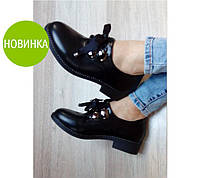 """Женские туфли """"Footstep"""" - гладкая экокожа"""